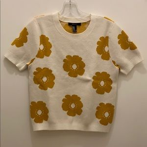 Forever 21 short sleeve sweater NWT